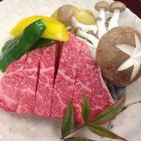 【贅沢】精肉店おすすめ♪A5ランク使用!飛騨牛ランプステーキに舌鼓★