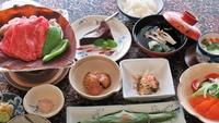 【朴葉定食】リーズナブル飛騨牛の朴葉味噌焼きプラン