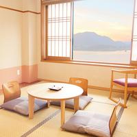 【禁煙】■和室10畳■富士山・河口湖ビュー側、シャワーブース
