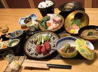犬御殿本館で食べる紀州厳選会席【松】プラン