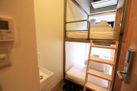 ツイン個室BUNKベッド2名用