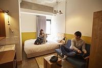 渋谷中目黒界隈で気軽に泊まれる2名〜4名用個室プラン