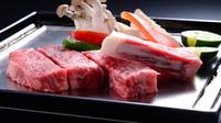 【国産牛ステーキ】露天風呂付客室♪
