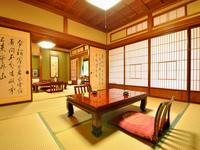 昭和初期の面影を残す客室◇和室16畳+広縁+洗面所・トイレ付