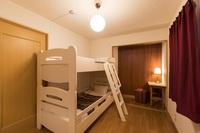 【女性専用】ドミトリールーム 2段ベッド×1