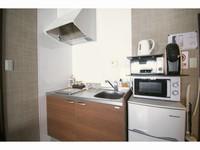 2A【2泊以上】2台の無料自転車・キッチン完備・円町駅5分。素泊まり・アパートメント・コンビニ1分
