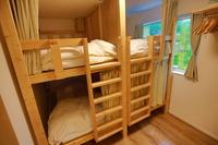 手づくり2段ベッド ドミトリールーム(4人部屋・相部屋)