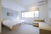 【東山のデザイナーズホテル! 】ファミリールーム 最大6名様宿泊 36平米!