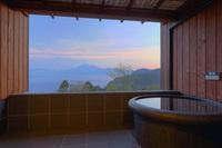 露天風呂付き客室【平日限定】シニアプラン(1泊2食付)