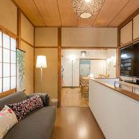 京都駅から徒歩3分!★無料WiFi★3DK一軒家に最大6名様でゆったりと♪