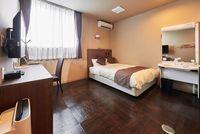 【禁煙】バリアフリールーム 13.8平米 140cmベッド