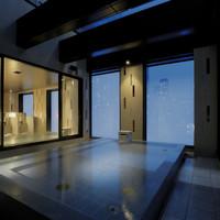 【2連泊以上限定!】露天風呂付きの大浴場とサウナのあるホテルで連泊プラン 朝食付き