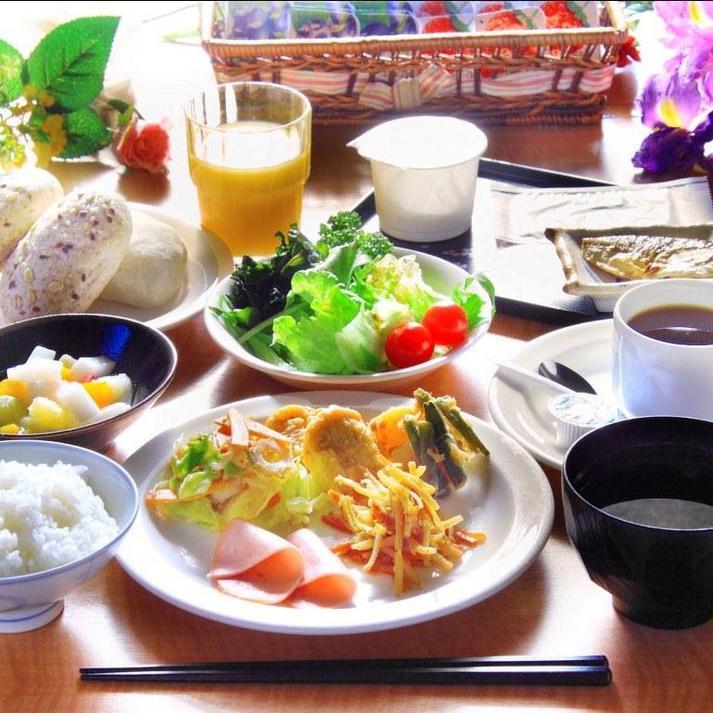 米沢へようこそ!出張・旅行に最適!食べ放題♪朝食バイキング付プラン♪