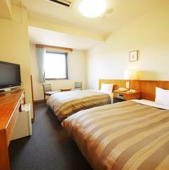 ツインルーム(富士山側)〔ベッド幅120cm×2台〕◇禁煙