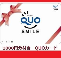 【QUOカード】1000円付き☆Stay* Thanks Gift Plan