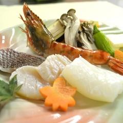 【山形牛×海の幸】山形牛ステーキ&海鮮陶板焼き膳プラン♪
