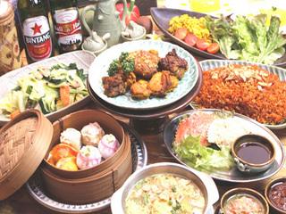 【1泊2食付プラン】★バリ料理と無料貸切風呂でアジアン気分満点!