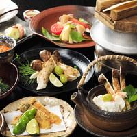 【秋のオススメ】香り豊かな松茸(国産)を贅沢に愉しむ『国産松茸プラン』