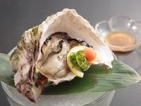 【8月末まで】岡山県にお住いのお客様限定!お値段そのままで岩ガキと鮎が楽しめる♪『お得な八景会席』