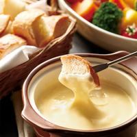 【1日限定2組】チーズ好き必見☆とろ〜り濃厚!チーズフォンデュの特別ディナー♪