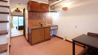 2F 和洋室メゾネットルーム&キッチン