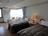 ★和洋室★ツインベッド+和室12.5畳の寛ぎのお部屋♪