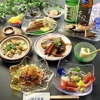 【グレードアップ】こだわり厳選★旬の贅沢味覚コース≪豪華★鯛のかぶと煮付き≫