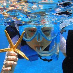 【マリンで2泊3日】夏だ!海だ!シュノーケリングinクロワッサンアイランド水納島2018≪朝食付≫