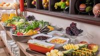 【アルピコグループ100+1周年記念】朝食バイキング+ミネラルウォーター【選べる特典A】