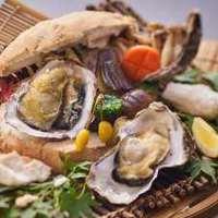 【殻付き牡蠣の塩釜焼付】Premium瀬戸内ダイニングディナービュッフェ【リニューアルオープン記念】