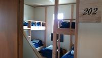 202号室(二段ベッド仕様、ロフト有)