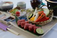 ◆【夕食・朝食付き】厳選の松阪牛♪陶板焼き御膳夕食&朝食付きプラン