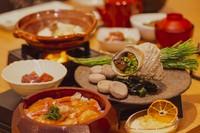【ボンズで記念日旅】鯛のひつまぶしに大サザエ壺焼きと大エビフライ付き<2食付き>