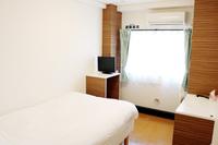 ダブルベッドルーム1室+セミダブル1室【禁煙】27平米