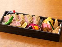 【軽朝食/牛かつ弁当付】選べるお弁当で優雅にホテルステイ 〜銀座の味をお届け〜