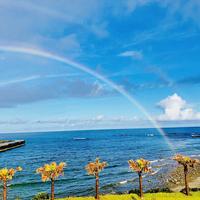 【朝食付き】海まで30秒の好立地!海を眺めながら島の食材を使った朝食を♪