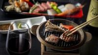 【春夏旅セール】<2食付き>旬の地元食材を満喫♪メインは国産牛と海鮮の陶板焼き食べ比べ!