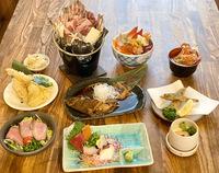 2食付【松コース】夕食は≪海鮮居酒屋五楽≫地元オススメ店でお腹いっぱい満足プラン♪