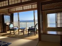 素泊まりプラン−熱海駅徒歩5分、海岸まで5分、駅商店街に近く、海を全客室から一望でき、天然温泉も無料