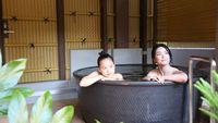 ホテルと空庭温泉でゆっくりステイ&フェイシャルエステ60分付き