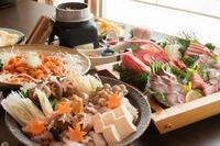 【冬はやっぱり鍋!】☆4名様以上限定☆旬のあんこう鍋コース♪(銚子のつりきんめ姿造り付き)