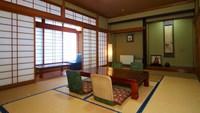 和室12畳+広縁(洗面・トイレ付)