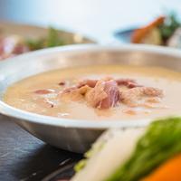 【基本◇水炊き会席】こだわりのスープから生まれる郷土の味『はかた地鶏』の水炊きコース