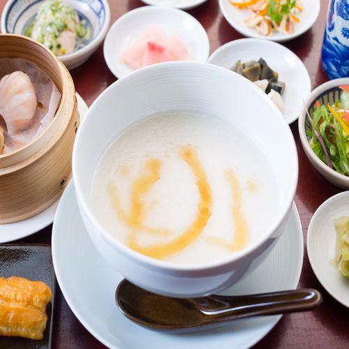 【朝食付】TVで紹介された!「魏飯夷堂(ぎはんえびすどう)」の絶品中華粥を味わって♪