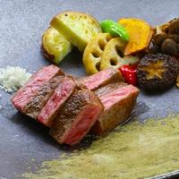 【鉄板焼き】能登牛ロースステーキディナープラン / 朝夕2食付