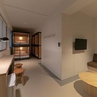 2段ベッド3台・6ベッドルーム【禁煙】/ベッド幅120cm