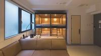 2段ベッド2台・4ベッドルーム【禁煙】