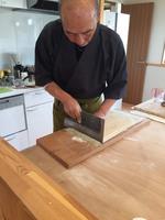 信州そば打ち教室体験プラン!!(体験無料!)香り豊かな本物の自家栽培新そばです。