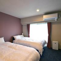 ツイン【完全禁煙室】ベッド幅120cm〜★22平米