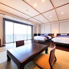 客室最上階からの絶景オーシャンビュー「和洋スーペリア」プラン